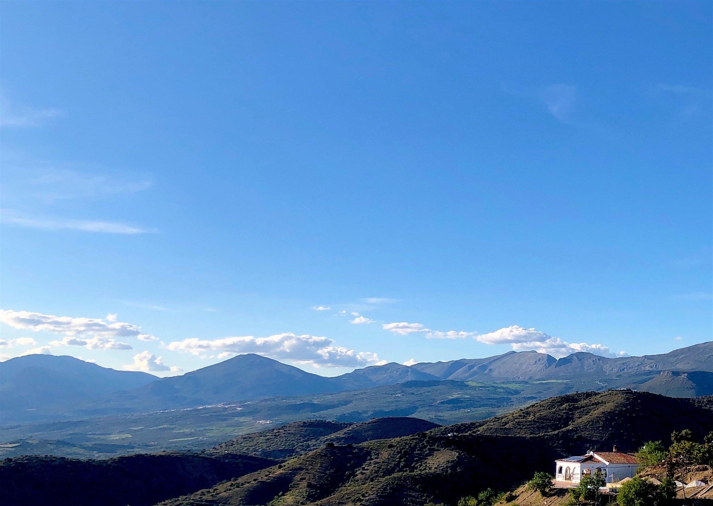 View on Lake Vinuela and La Maroma